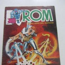 Cómics: ROM CABALLERO DEL ESPACIO Nº 7 LINEA SURCO / VERTICE 1983 DIFICIL! C28. Lote 178255642