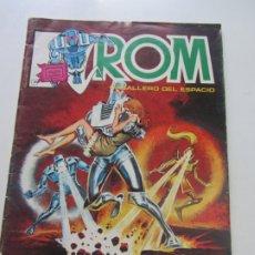 Cómics: ROM CABALLERO DEL ESPACIO Nº 7 LINEA SURCO / VERTICE 1983 DIFICIL! C28. Lote 178255648