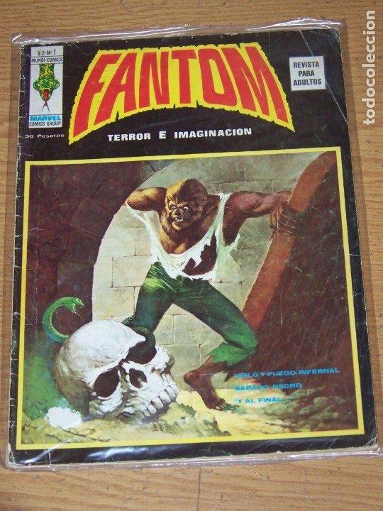 VERTICE FANTOM VOL V.2 Nº 1 (Tebeos y Comics - Vértice - Terror)