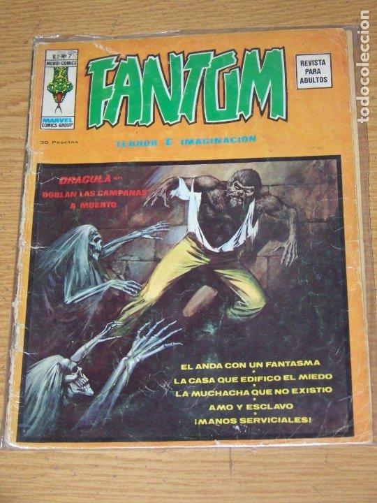 VERTICE FANTOM VOL V.2 Nº 7 (Tebeos y Comics - Vértice - Terror)