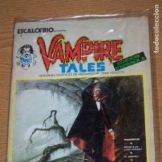 Cómics: VERTICE ESCALOFRIO 1 CON VAMPIRE TALES 1. Lote 178275292