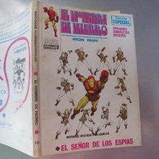 Cómics: EL HOMBRE DE HIERRO-COMIC MARVEL Nº 15. Lote 178279828