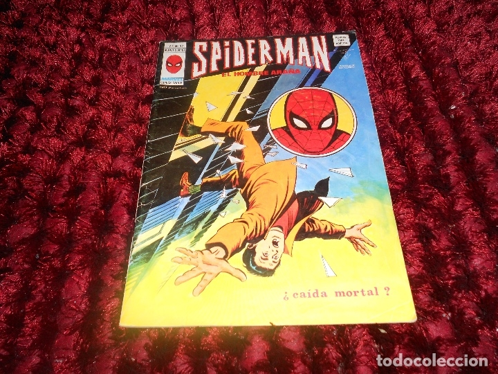 SPIDERMAN VOL. 3 Nº 37 MUNDI COMICS VERTICE MARVEL VOLUMEN CAIDA MORTAL (Tebeos y Comics - Vértice - V.3)
