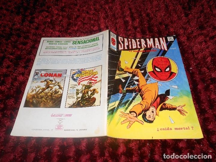 Cómics: SPIDERMAN VOL. 3 Nº 37 MUNDI COMICS VERTICE MARVEL VOLUMEN CAIDA MORTAL - Foto 6 - 178371907