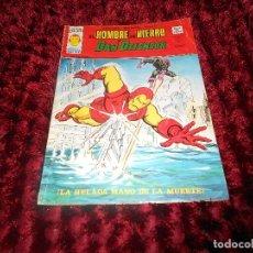 Cómics: HEROES MARVEL - EL HOMBRE DE HIERRO Y DAN DEFENSOR / VOL 2 - Nº 33 / VERTICE / SIN USAR. Lote 178374863
