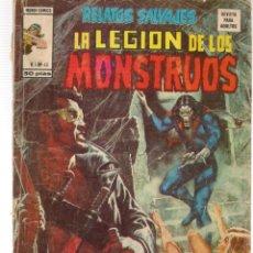 Cómics: RELATOS SALVAJES. V.1, Nº 45. LA LEGIÓN DE LOS MONSTRUOS. VERTICE. (B/A49). Lote 178444707