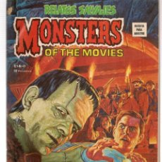 Cómics: RELATOS SALVAJES. V.1, Nº 49. MONSTERS OF THE MOVIES. VERTICE. (B/A49). Lote 178445260