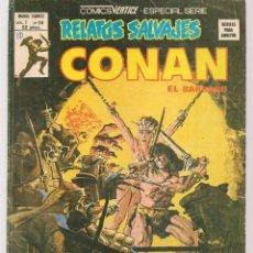 Comics: RELATOS SALVAJES. V.1, Nº 69. CONAN, EL BÁRBARO. EL CUCHILLO LLAMEANTE. VERTICE. (B/A49). Lote 178557013