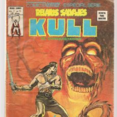 Comics : RELATOS SALVAJES. V.1, Nº 71. KULL, EL DESTRUCTOR. JINETES DE MAS ALLÁ DEL SOL. VERTICE. (B/A49). Lote 178557257