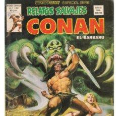 Cómics: RELATOS SALVAJES. V.1, Nº 84. CONAN, EL BÁRBARO. VANDAVAL DE STYGIA. VERTICE. (B/A49). Lote 178560606