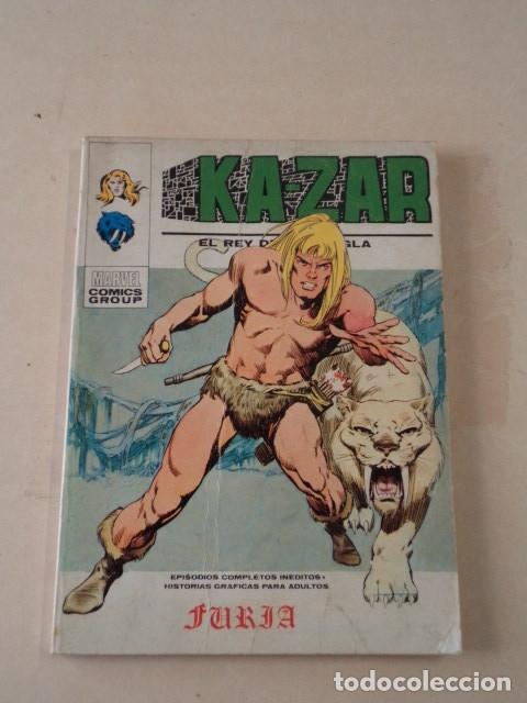 KA-ZAR Nº 1 - FURIA - VÉRTICE TACO (Tebeos y Comics - Vértice - Otros)