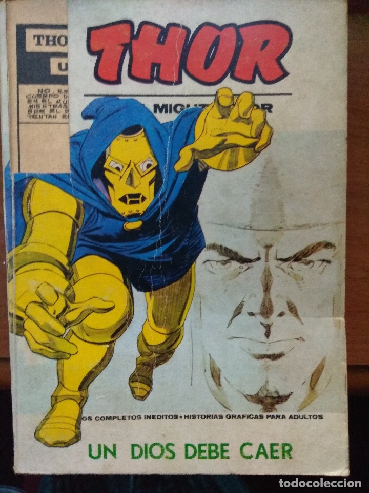 THOR Nº 36 VÉRTICE TACO (Tebeos y Comics - Vértice - Thor)