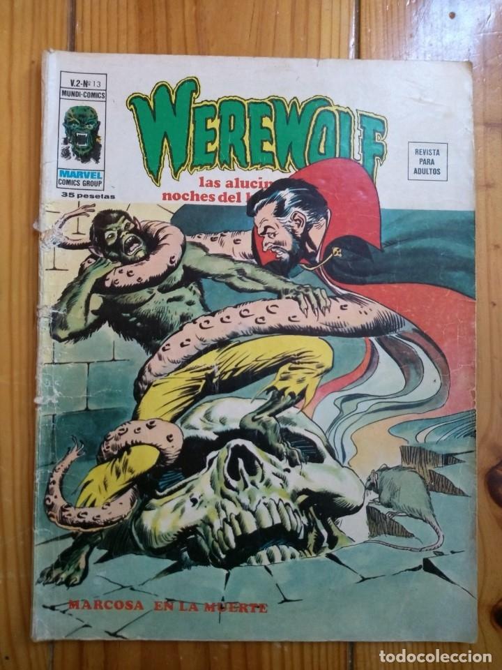 WEREWOLF Nº 13 V.2 (Tebeos y Comics - Vértice - Terror)