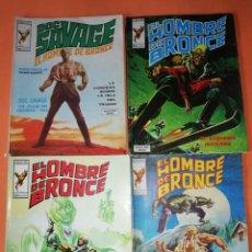 Cómics: EL HOMBRE DE BRONCE . COMICS ART. NUMEROS 1,3.5 Y 8. VER FOTOS DE ESTADO.. Lote 178756108