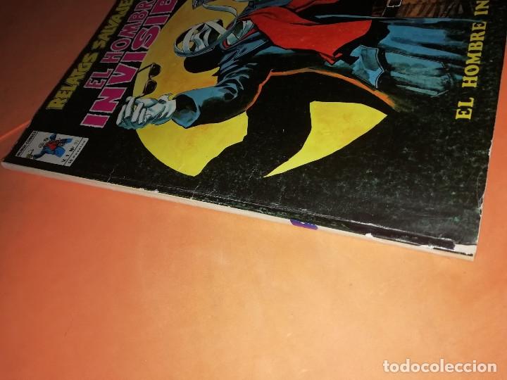 Cómics: RELATOS SALVAJES. EL HOMBRE INVISIBLE. VOL 1 Nº 31. BUEN ESTADO. - Foto 2 - 178761290