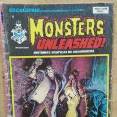 Cómics: ESCALOFRÍO PRESENTA: MONSTERS UNLEASHED! - Nº 8, FRANKENSTEIN 1975 / FIEBRE EN LA CASA EXTRAÑA . Lote 178766583