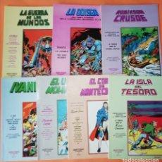 Cómics: CLASICOS MUNDI COMICS . EDICIONES VERTICE. LOTE DE SIETE CLASICOS. BUEN ESTADO.. Lote 178769891