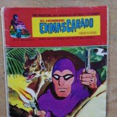 Cómics: EL HOMBRE ENMASCARADO - Nº 42, EL MISTERIO DEL MAHARAJÁ / REGRESO ACCIDENTADO - ED. VÉRTICE. Lote 178772158