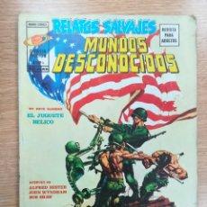 Cómics: RELATOS SALVAJES VOL 1 #4 MUNDOS DESCONOCIDOS. Lote 178782543