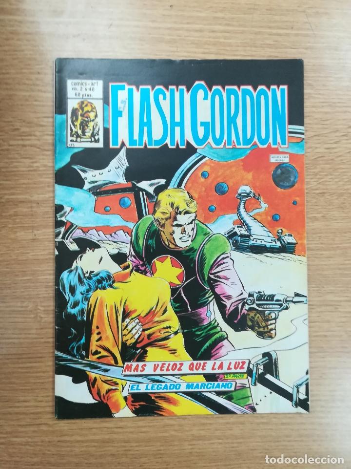 FLASH GORDON VOL 2 #40 (Tebeos y Comics - Vértice - Flash Gordon)