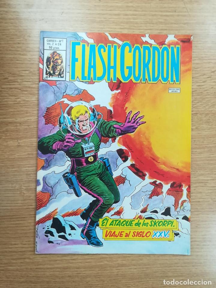 FLASH GORDON VOL 2 #24 (Tebeos y Comics - Vértice - Flash Gordon)