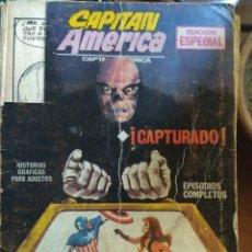 Cómics: CAPITÁN AMÉRICA Nº 2 - VÉRTICE FORMATO TACO. FALTAN PÁGINAS. Lote 178920292