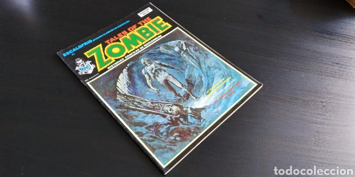 EXCELENTE ESTADO ESCALOFRÍO 23 TALES OF THE ZOMBIE 7 VERTICE (Tebeos y Comics - Vértice - Terror)