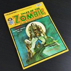 Cómics: BASTANTE NUEVO ESCALOFRÍO 25 TALES OF THE ZOMBIE 8 VERTICE. Lote 178938556