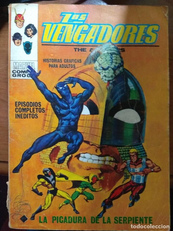 LOS VENGADORES Nº 33 - VÉRTICE TACO (Tebeos y Comics - Vértice - Vengadores)