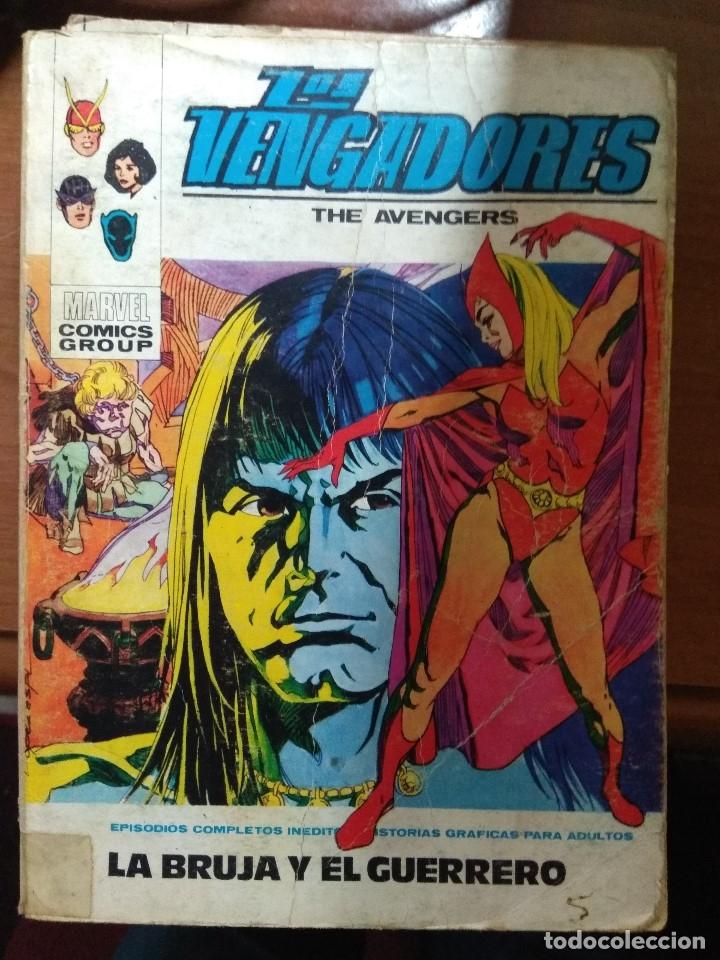 LOS VENGADORES Nº 34 - VÉRTICE TACO - FALTA PÁGINA (Tebeos y Comics - Vértice - Vengadores)