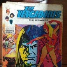 Cómics: LOS VENGADORES Nº 34 - VÉRTICE TACO - FALTA PÁGINA. Lote 179007983