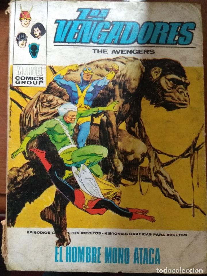 LOS VENGADORES Nº 35 - VÉRTICE TACO (Tebeos y Comics - Vértice - Vengadores)