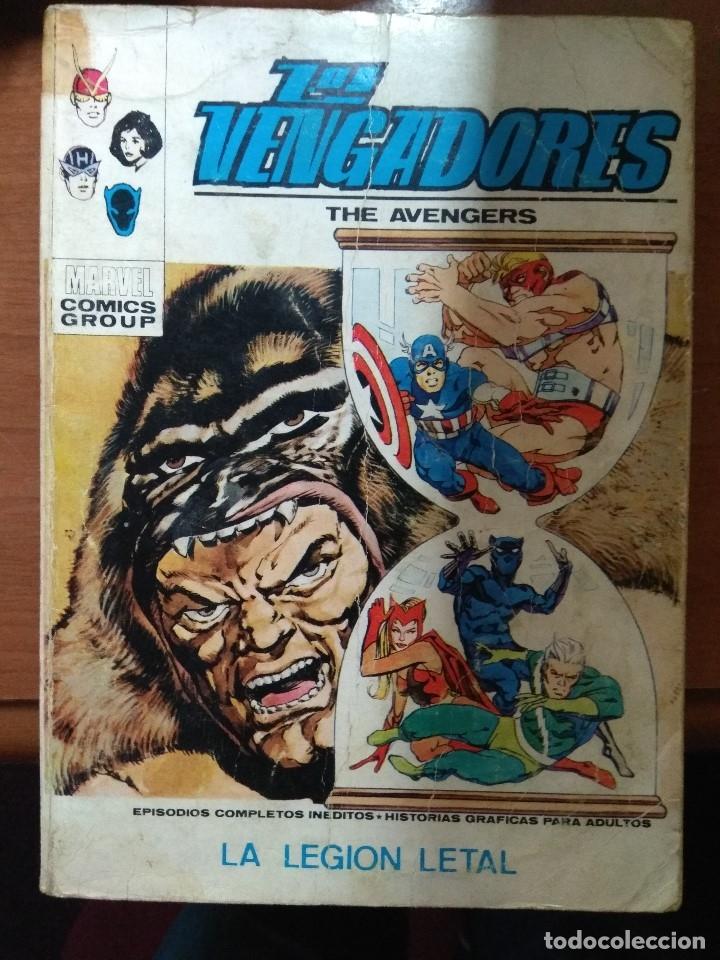 LOS VENGADORES Nº 36 - VÉRTICE TACO - FALTA PÁGINA (Tebeos y Comics - Vértice - Vengadores)