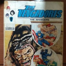 Cómics: LOS VENGADORES Nº 36 - VÉRTICE TACO - FALTA PÁGINA. Lote 179008220