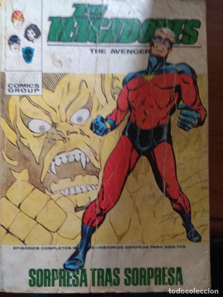 LOS VENGADORES Nº 43 - VÉRTICE TACO (Tebeos y Comics - Vértice - Vengadores)