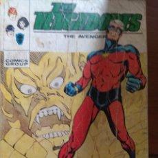 Cómics: LOS VENGADORES Nº 43 - VÉRTICE TACO. Lote 179008448