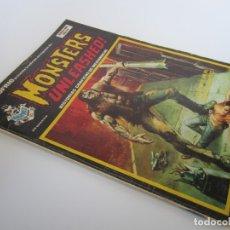 Cómics: ESCALOFRIO (1973, VERTICE) 37 · 30-VII-1975 · MONSTERS UNLEASHED! 10. Lote 179010320