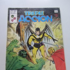 Cómics: TRIPLE ACCION N.9 V.1 LOS DEFENSORES MUNDI COMICS , EDITORIAL VERTICE 1979 CX26B. Lote 179026846
