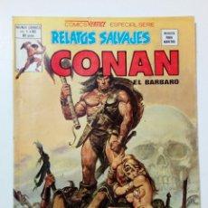 Cómics: RELATOS SALVAJES - VOL.1 Nº 83 - CONAN EL BARBARO (EL TESORO DE LOS TRANICOS) MUNDI-COMICS - VÉRTICE. Lote 179049382