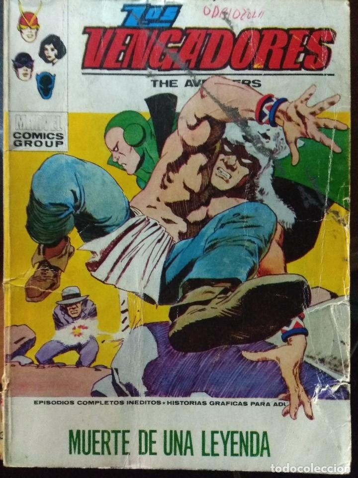 LOS VENGADORES Nº 37 - VÉRTICE TACO (Tebeos y Comics - Vértice - Vengadores)