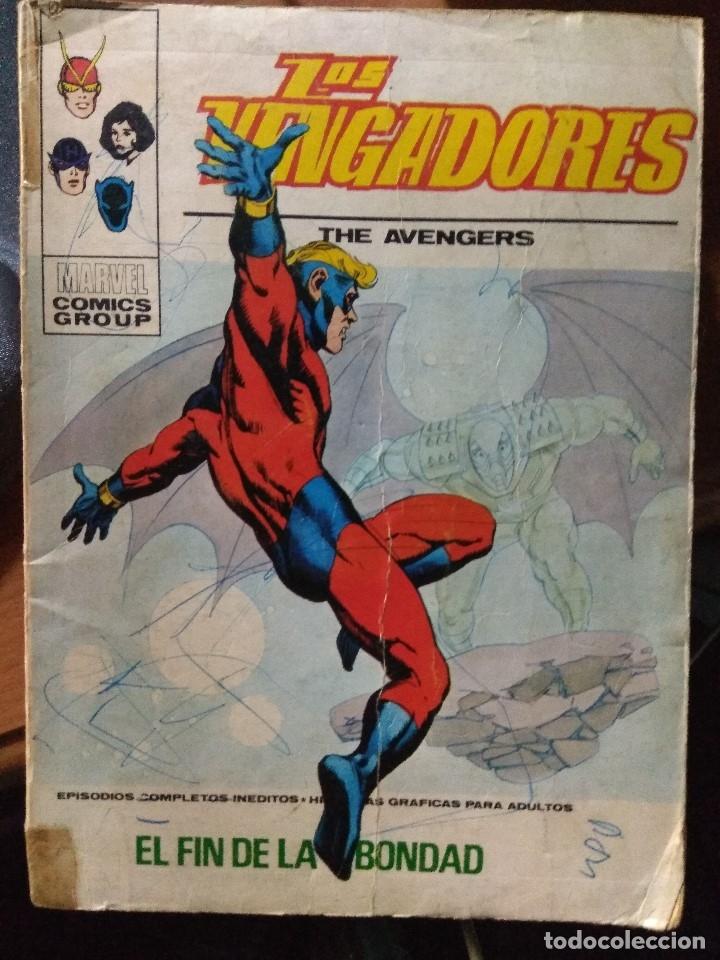 LOS VENGADORES Nº 45 - VÉRTICE TACO (Tebeos y Comics - Vértice - Vengadores)