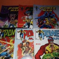 Cómics: POWER MAN . LOTE SEIS NUMEROS. VERTICE. SURCO. Nº 5 ,6,7,8,9 Y 10. MUY BUEN ESTADO.. Lote 179193323