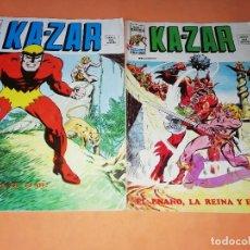Cómics: KA-ZAR. VOLUMEN 2. NUMEROS 8 Y 9. VERTICE. VER FOTOS DE ESTADO. Lote 179231806