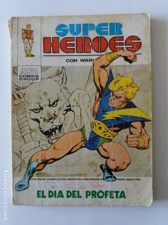 SUPER HEROES. Nº 1. EL DÍA DEL PROFETA. EDICIONES VERTICE. 1973. (Tebeos y Comics - Vértice - Super Héroes)