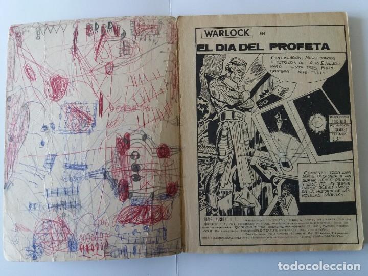 Cómics: SUPER HEROES. Nº 1. EL DÍA DEL PROFETA. EDICIONES VERTICE. 1973. - Foto 3 - 179234333