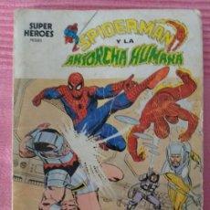 Cómics: SPIDERMAN Y LA ANTORCHA HUMANA (1973). Lote 179321306