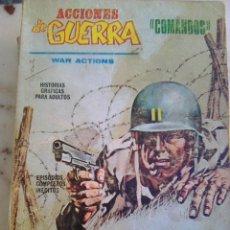 Cómics: ACCIONES DE GUERRA Nº 1 - PRIMERA MISIÓN - (VÉRTICE, 1972) - CAPITAN SAVAGE - MARVEL BÉLICO - . Lote 179330157