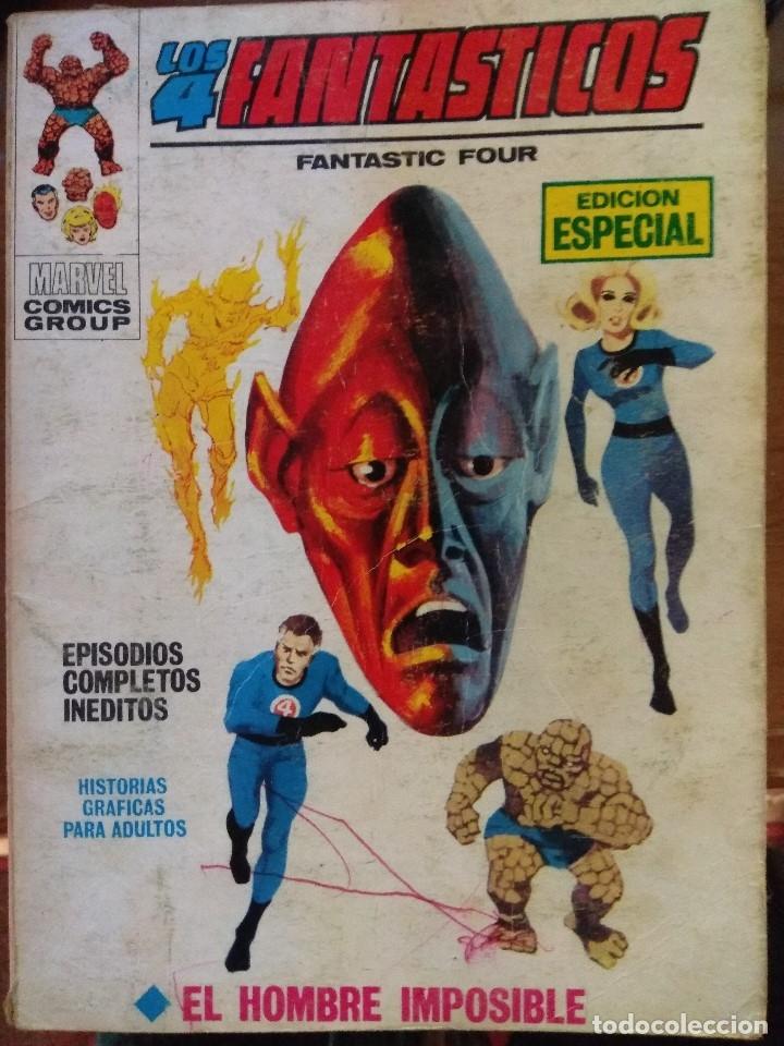 LOS 4 FANTASTICOS Nº 6 - VÉRTICE TACO (Tebeos y Comics - Vértice - 4 Fantásticos)
