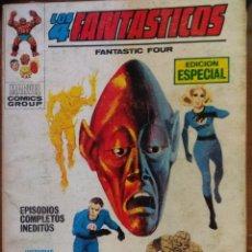 Cómics: LOS 4 FANTASTICOS Nº 6 - VÉRTICE TACO. Lote 179375150