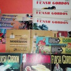 Cómics: FLASH GORDON . GRAN LOTE EDICIONES VERTICE , DOLAR Y B.O. 42 COMICS EN TOTAL. NO SUELTOS.. Lote 179392680